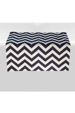 Chevron Table Square Overlay
