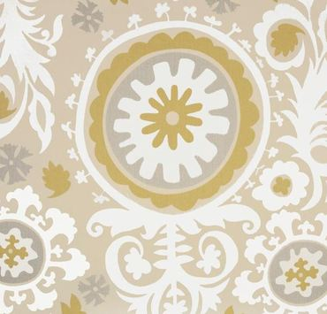Taupe gold gray fabric