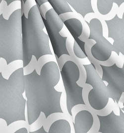 Quatrefoil Fabric