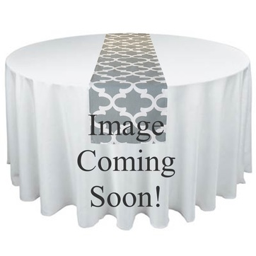 Taupe beige table runner