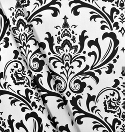 Black and White Fabric