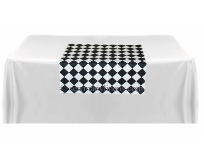 Black Diamond Table square overlay