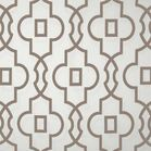Quatrefoil table runner