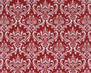 red & white pillow cover
